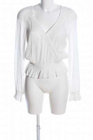 H&M Slip-over Blouse white casual look