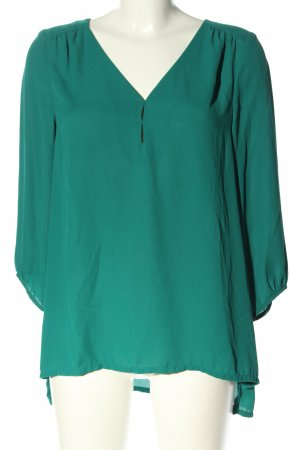 H&M Slip-over Blouse green casual look