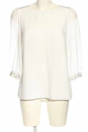 H&M Schlupf-Bluse wollweiß Casual-Look