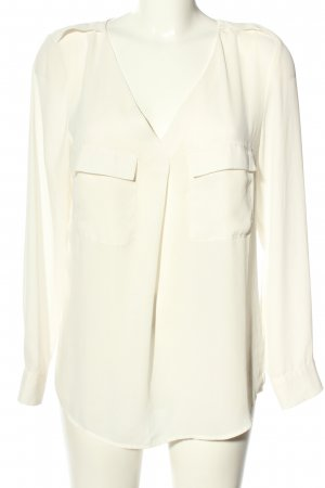 H&M Slip-over Blouse natural white casual look