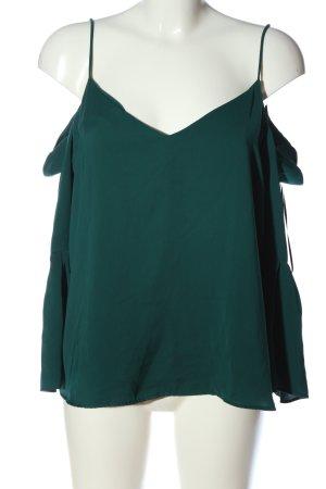 H&M Schlupf-Bluse grün Casual-Look