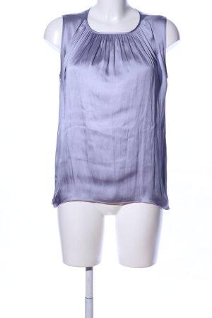 H&M Schlupf-Bluse blau Casual-Look