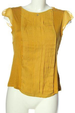 H&M Schlupf-Bluse hellorange Punktemuster Casual-Look