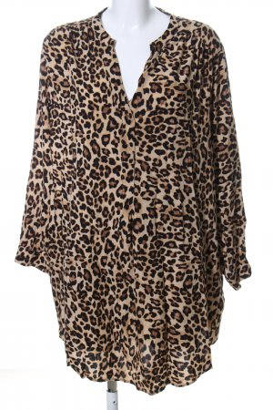 H&M Slip-over blouse volledige print casual uitstraling