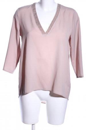 H&M Slip-over Blouse pink business style