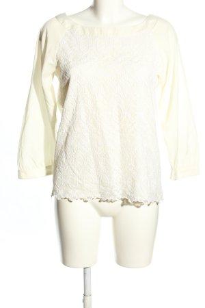 H&M Schlupf-Bluse wollweiß-weiß Casual-Look
