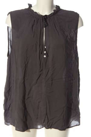 H&M Schlupf-Bluse hellgrau Casual-Look