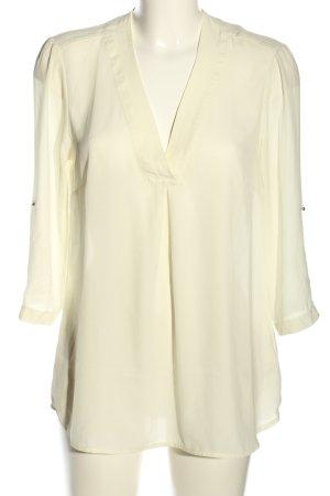H&M Slip-over blouse wolwit zakelijke stijl