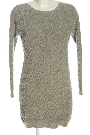 H&M Warkoczowy sweter jasnoszary W stylu casual