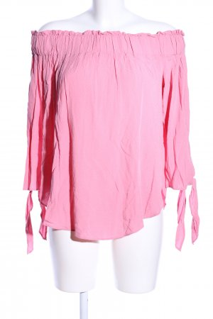 H&M Schlupf-Bluse pink Casual-Look