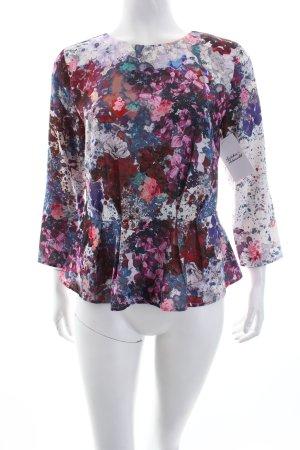 H&M Schlupf-Bluse Blumenmuster Romantik-Look