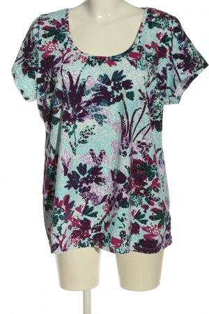 H&M T-Shirt abstraktes Muster Casual-Look