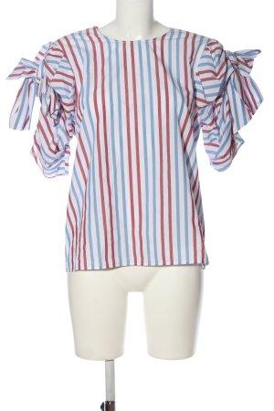 H&M Schlupf-Bluse Streifenmuster Casual-Look