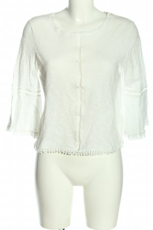 H&M Schlupf-Bluse weiß Business-Look