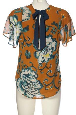 H&M Schlupf-Bluse Allover-Druck Casual-Look