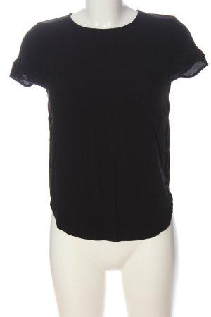 H&M T-Shirt schwarz Casual-Look