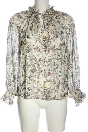 H&M Slip-over blouse volledige print elegant