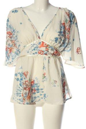 H&M Schlupf-Bluse Blumenmuster Casual-Look