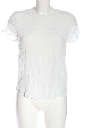 H&M Schlupf-Bluse weiß Casual-Look