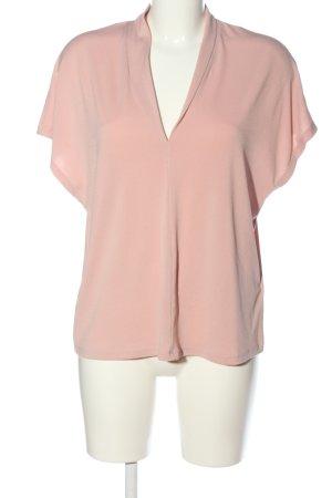 H&M Schlupf-Bluse pink Business-Look