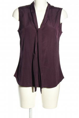 H&M Schluppen-Bluse lila Casual-Look