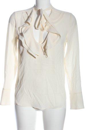 H&M Tie-neck Blouse cream business style