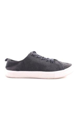 H&M Schnürschuhe schwarz-weiß Casual-Look