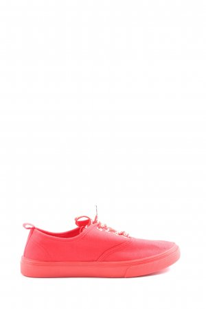 H&M Schnürsneaker pink Casual-Look