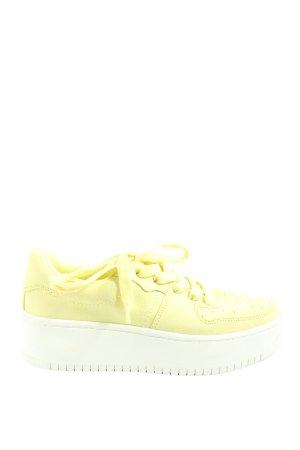 H&M Lace-Up Sneaker primrose casual look
