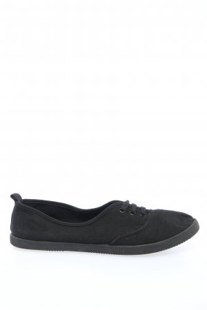 H&M Lace-Up Sneaker black casual look