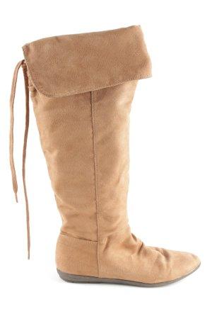 H&M Aanrijg laarzen nude casual uitstraling
