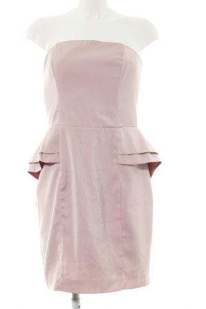 H&M Schößchenkleid pink Casual-Look