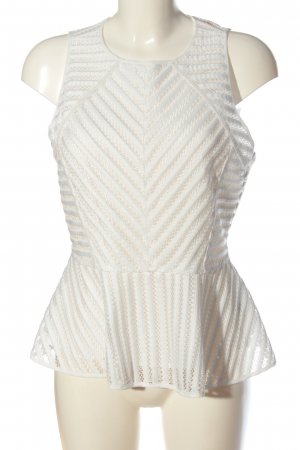 H&M Peplum Top white elegant