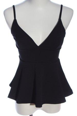 H&M Peplum Top black casual look