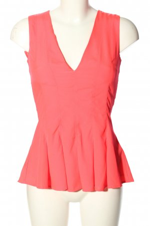 H&M Peplum Top pink elegant
