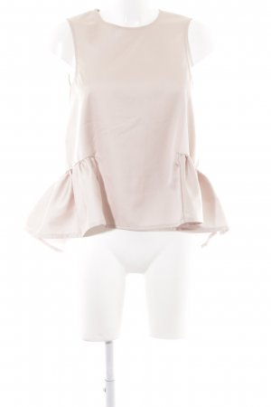 H&M Top peplum nude look casual