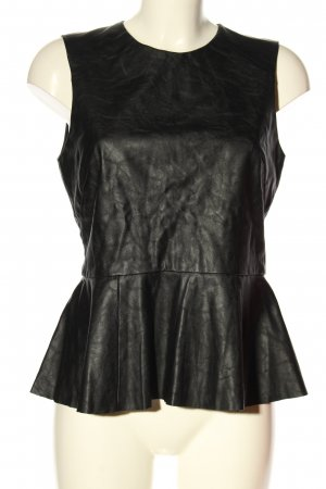 H&M Peplum Top black casual look