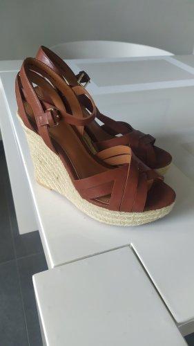 H&M Schuhe Wedges braun gr 38