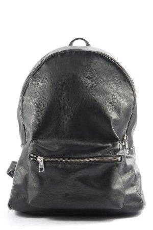 H&M Schulrucksack schwarz Casual-Look