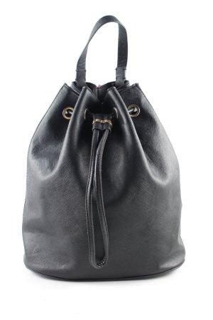 H&M Schoolrugzak zwart casual uitstraling