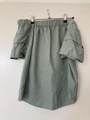 H&M- schulterfreie Bluse