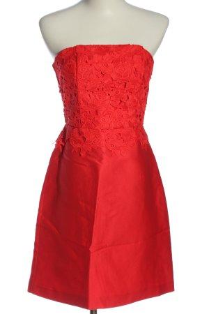 H&M Robe épaules nues rouge élégant