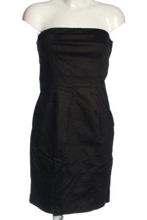 H&M Robe épaules nues noir style décontracté