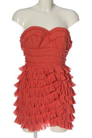 H&M schulterfreies Kleid pink Elegant
