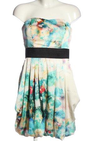 H&M schulterfreies Kleid Mustermix Casual-Look