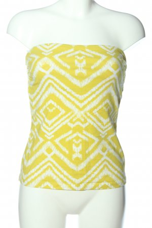 H&M Off-The-Shoulder Top primrose-white allover print casual look
