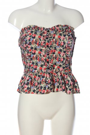 H&M Off-The-Shoulder Top allover print casual look