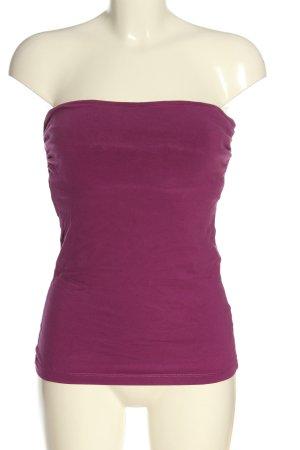 H&M Top spalle scoperte rosa stile casual
