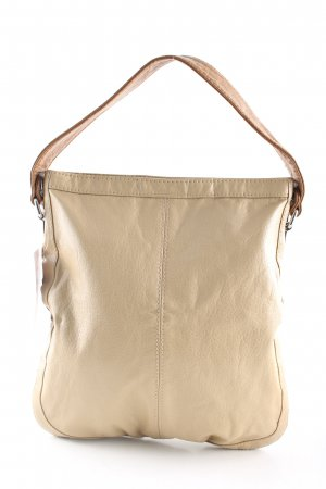 H&M Schultertasche creme Casual-Look