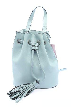 H&M Schultertasche blau Casual-Look